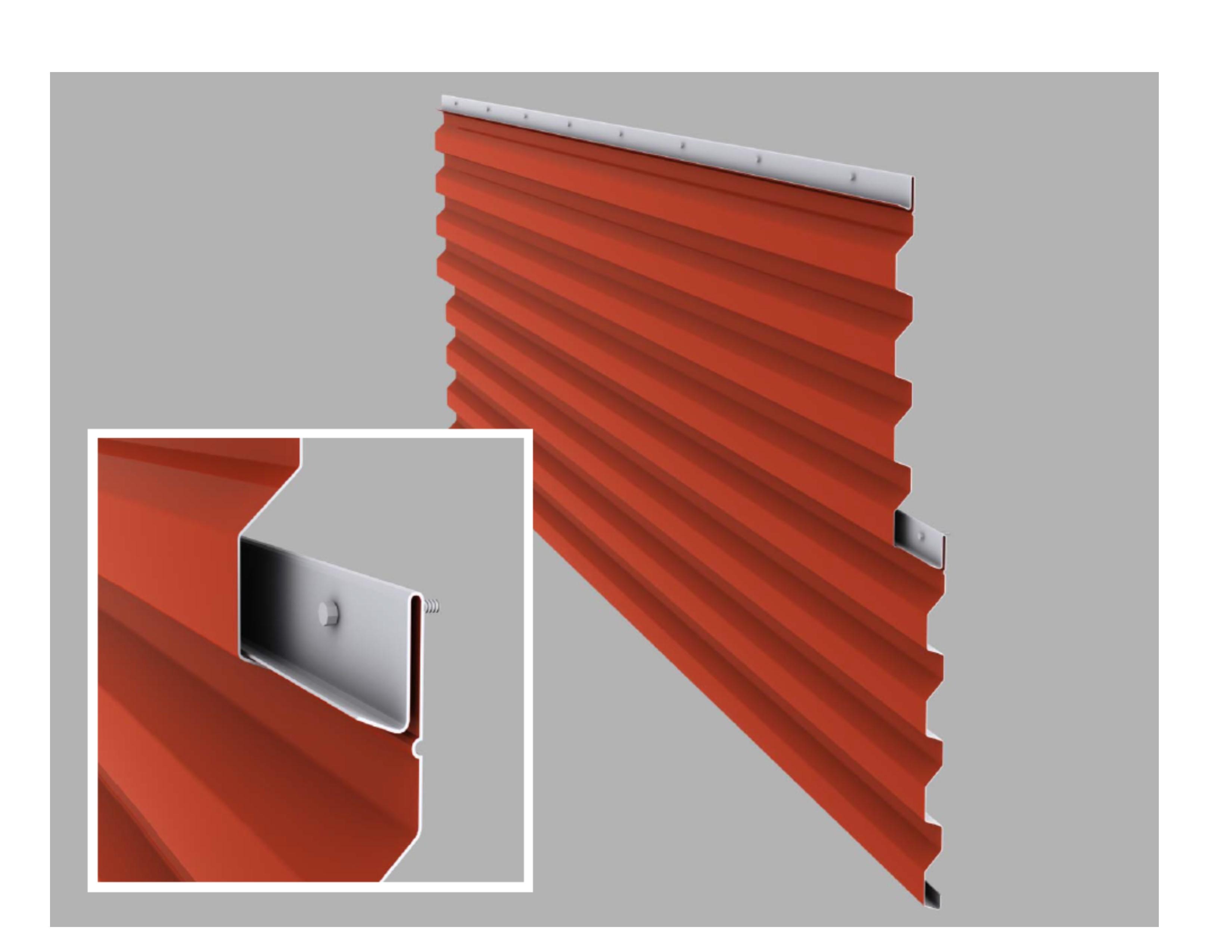 Ultra Rib Wall Panel Coated Metals Group