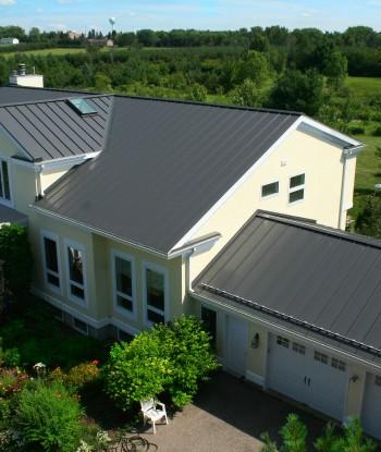 Charcoal Gray Home