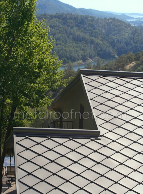 MRN  16 Diamond Roof Shingles Finished Steel 4