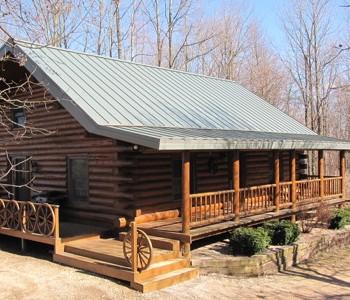Aged Copper Home