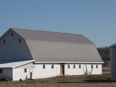 Slate Gray Barn Coated Metals Group