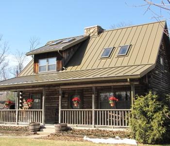 Medium Bronze Home