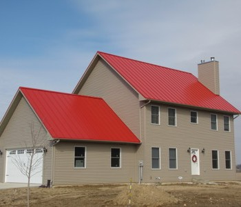 Regal Red Home