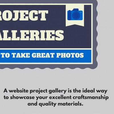 Project Galleries: How to Take a Great Photo