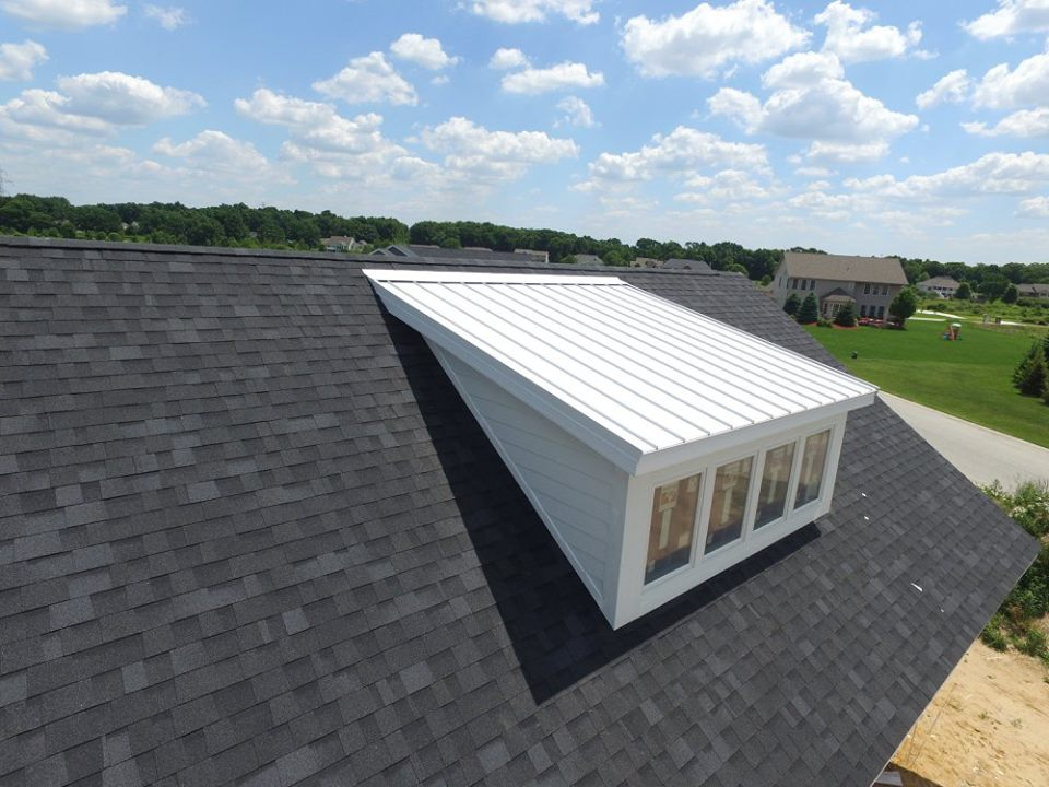 Bone White Accent Roof Coated Metals Group