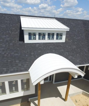 Bone White Accent Roof
