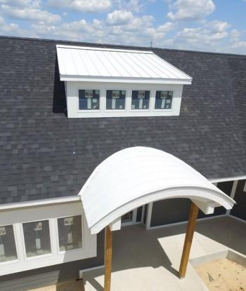 Bone White Accent Roof