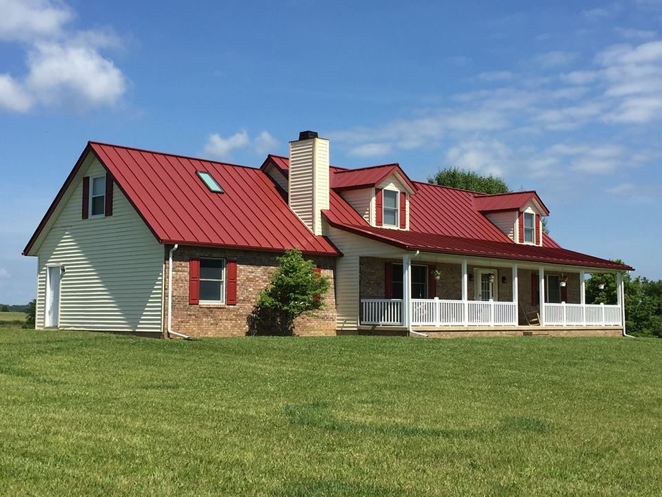 Colonial Red Residential Coated Metals Group