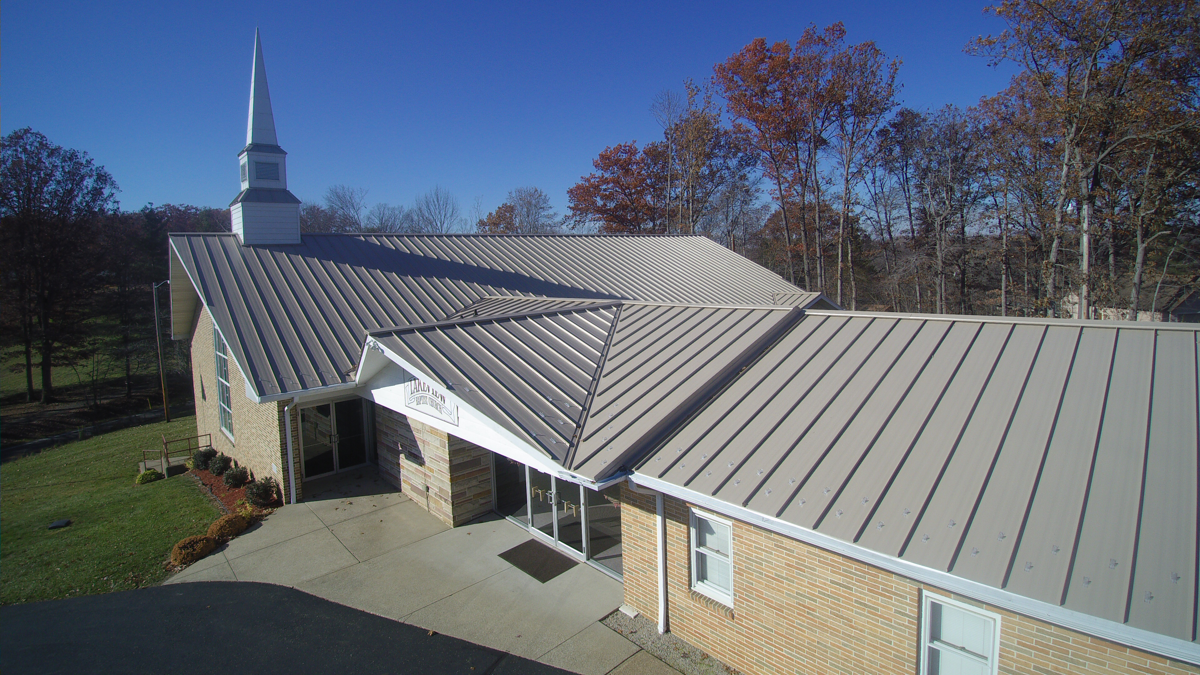 A Little Church In Ohio Is Blessed With A New Roof