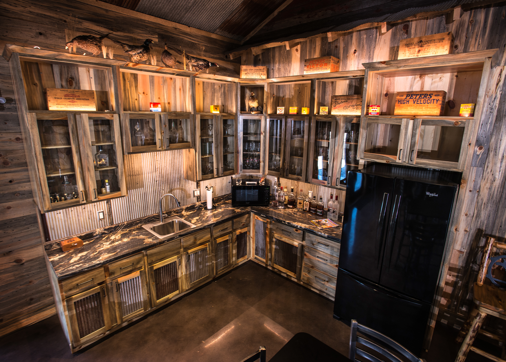 cmg u0027s western rust completes this rustic ranch coated metals group