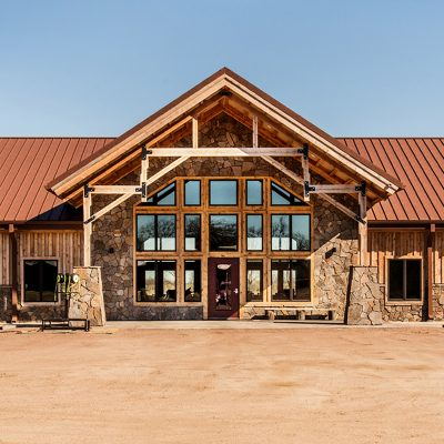 CMG's Western Rust Completes this Rustic Ranch