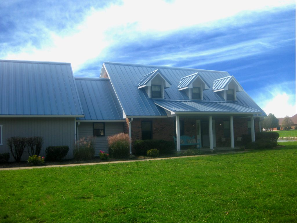 Slate Blue Residential Coated Metals Group